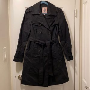 Juicy Couture Trenchcoat in Black